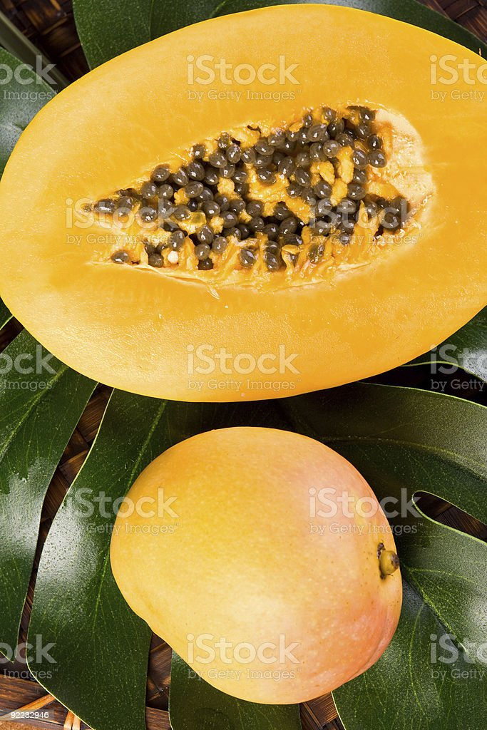 Fresh Tropical Fruit royalty-free stock photo