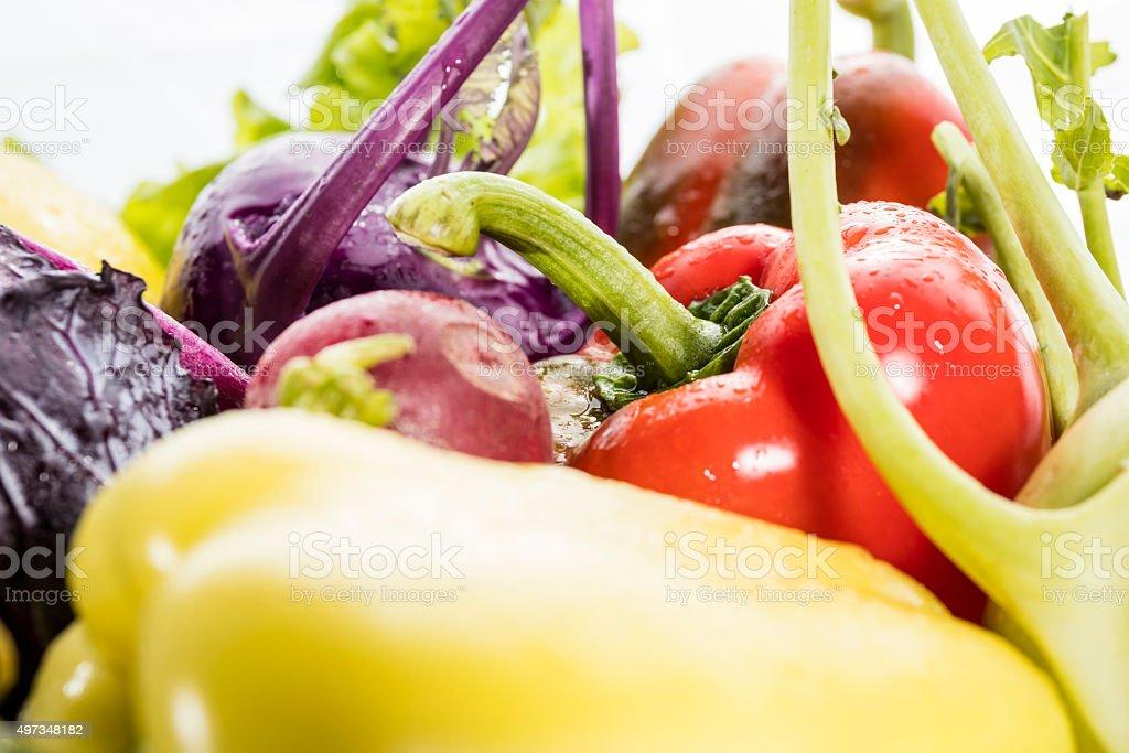 Frische vagetables Lizenzfreies stock-foto