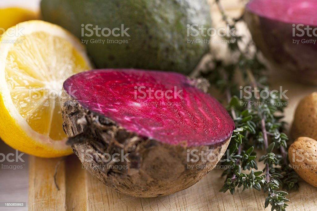 fresh vegetable for vegetarian cooking royalty-free stock photo