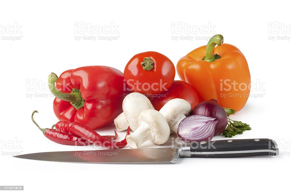 Fresh vegetable royalty-free stock photo