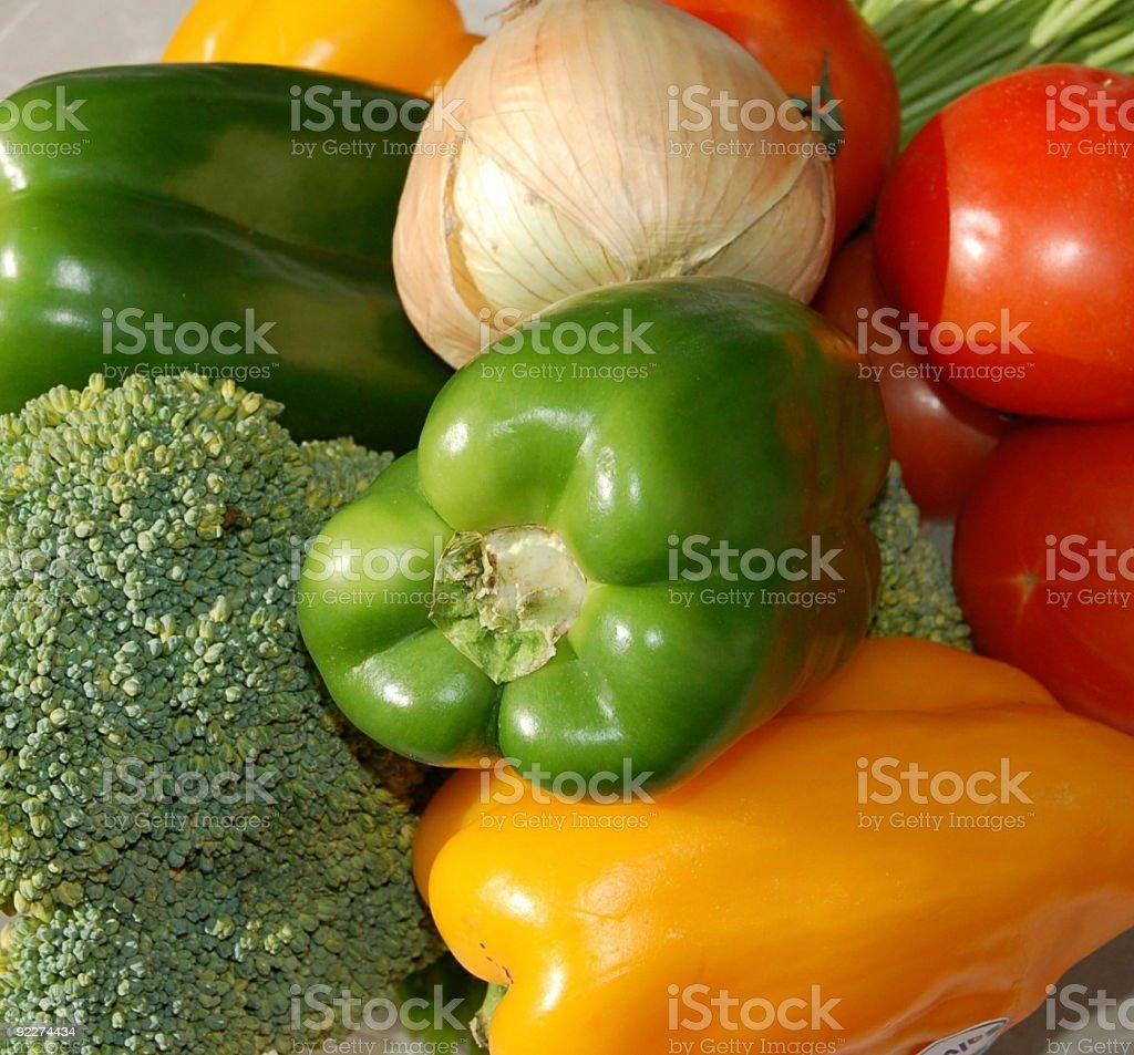 Świeże warzyw zbiór zdjęć royalty-free