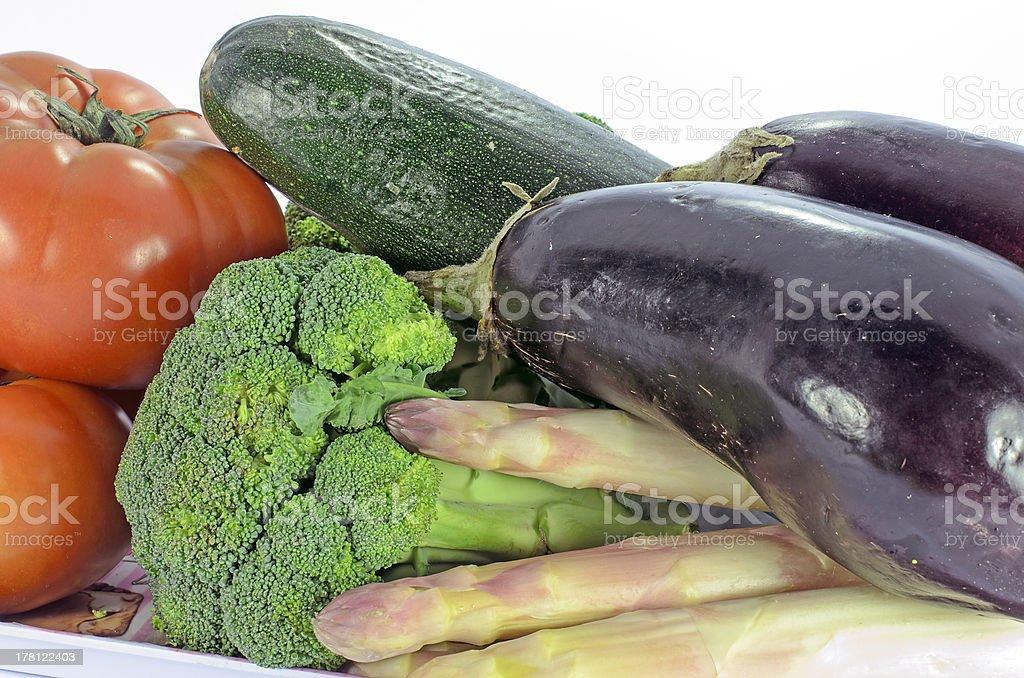 Gros plan de légumes frais photo libre de droits
