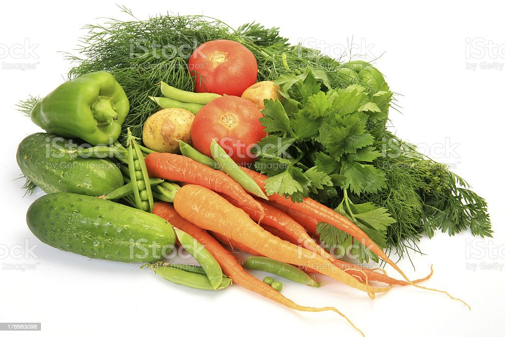 Fresh vegetables for a healthy feed royalty-free stock photo