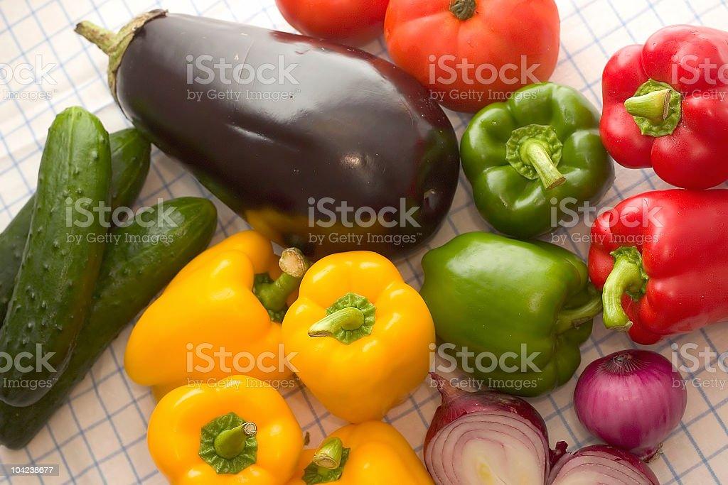 Fresh Vegetables IV royalty-free stock photo