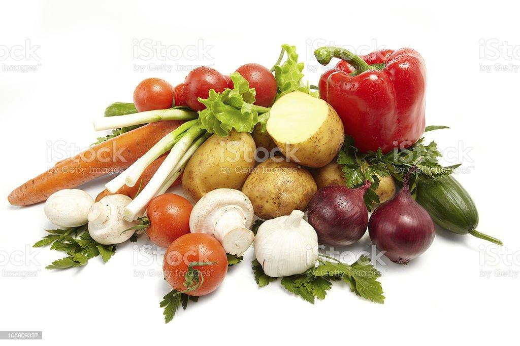 Fresh Vegetables stock photo