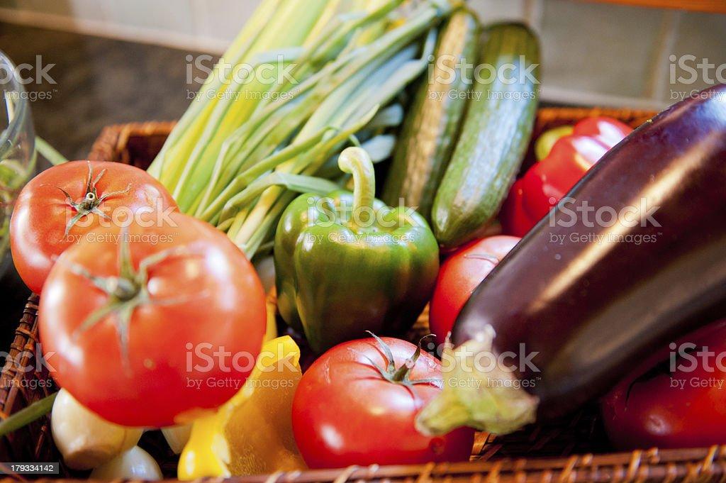 Fresh Vegetables. stock photo