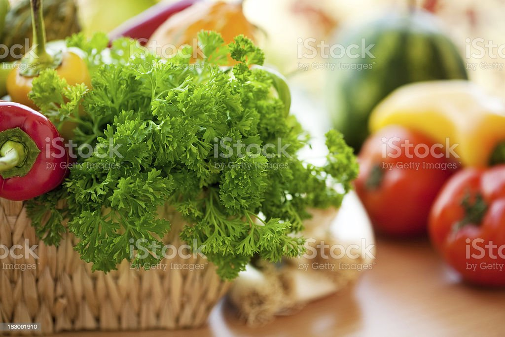 Fresh vegetables royalty-free stock photo