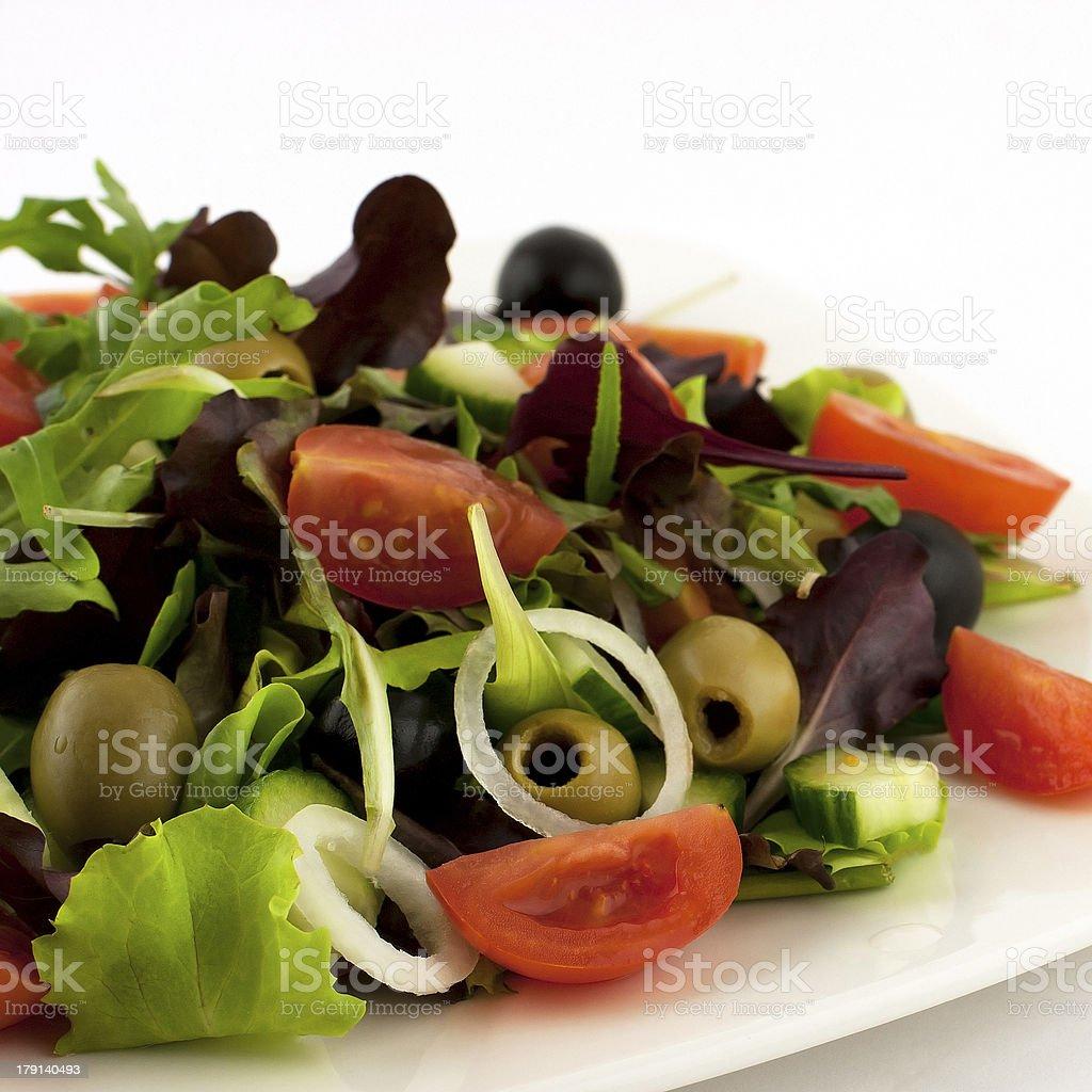 fresh vegetables salad royalty-free stock photo