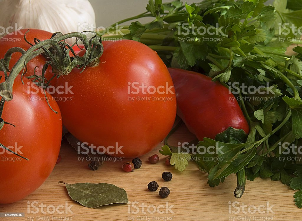 Fresh vegetables VI royalty-free stock photo