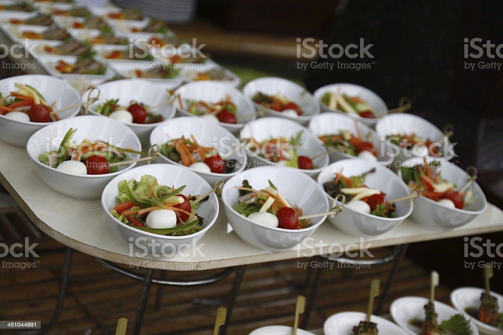 Świeże Sałatka wegetariańska Przystawka zbiór zdjęć royalty-free