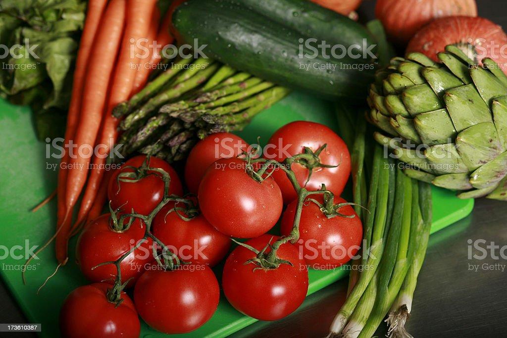 Fresh Veggies Series royalty-free stock photo