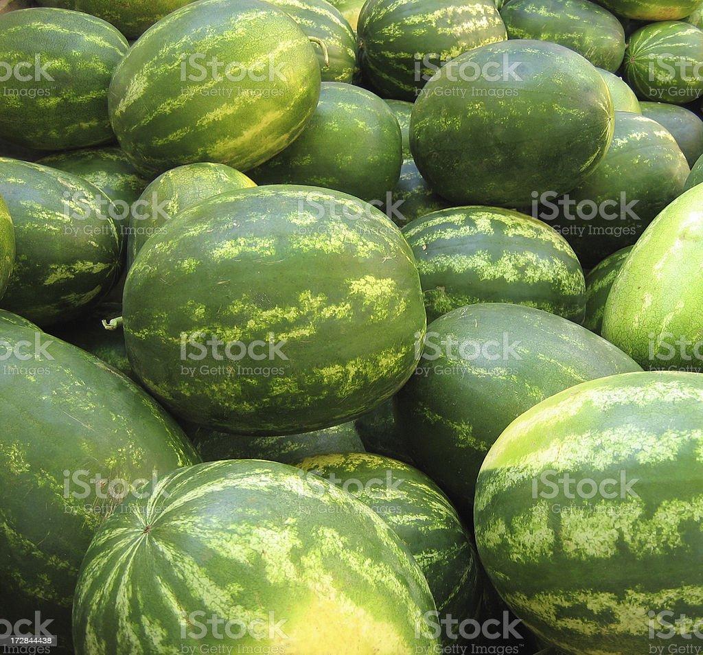 Frisches Wasser Melonen Lizenzfreies stock-foto
