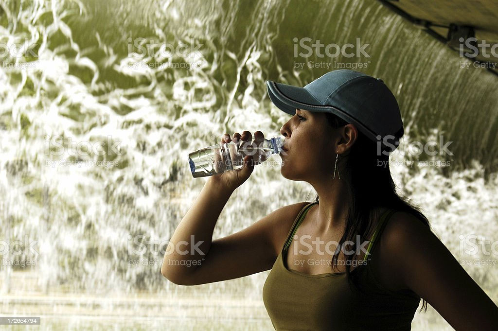 Fresh water royalty-free stock photo