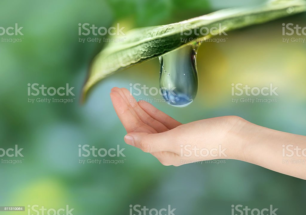 Fresh water stock photo