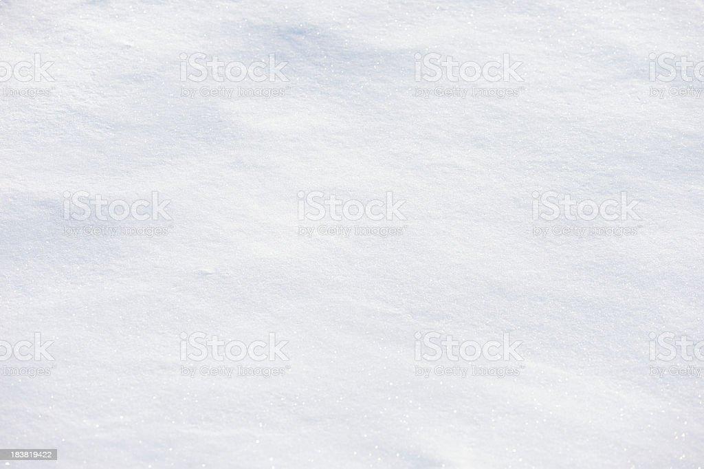 Fresh White Powder Snow Full Frame Background stock photo