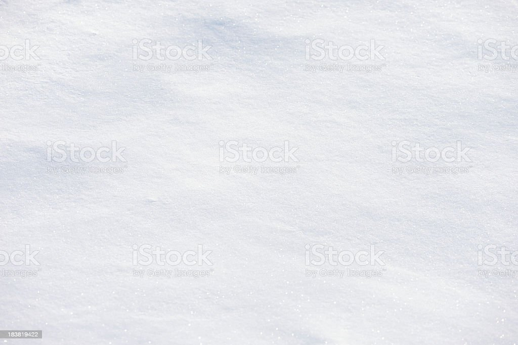 Fresh White Powder Snow Full Frame Background stock photo
