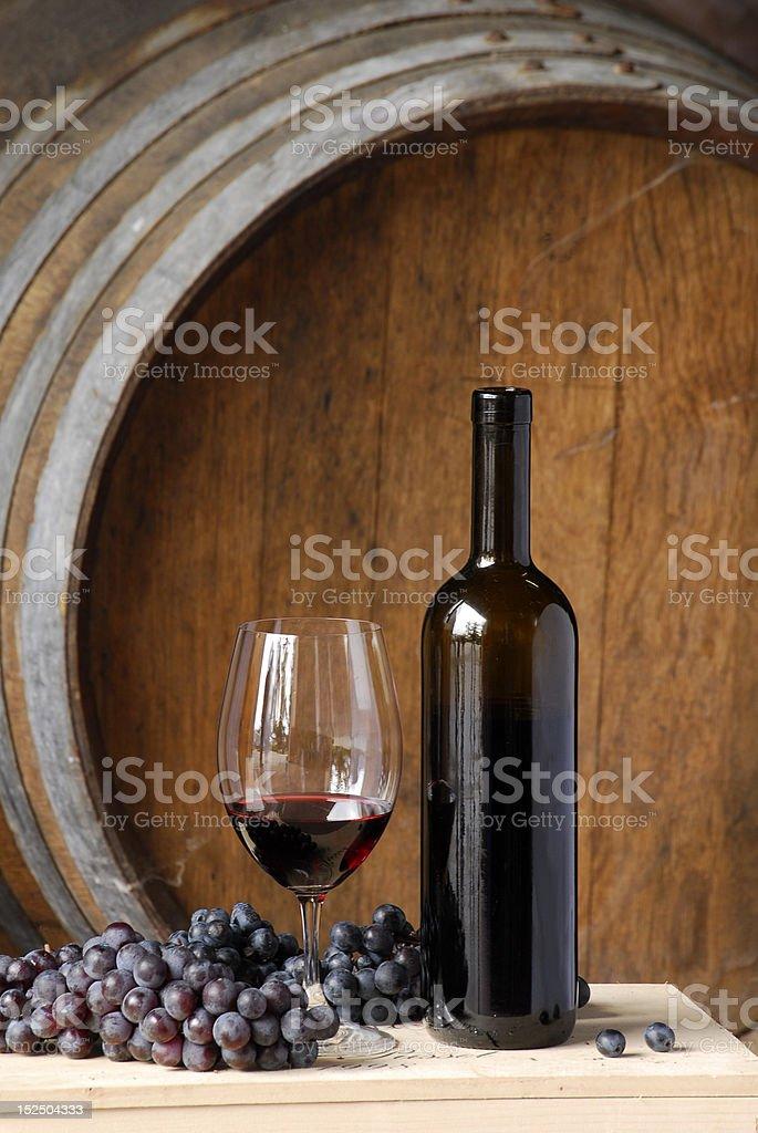 Fresh wine. stock photo