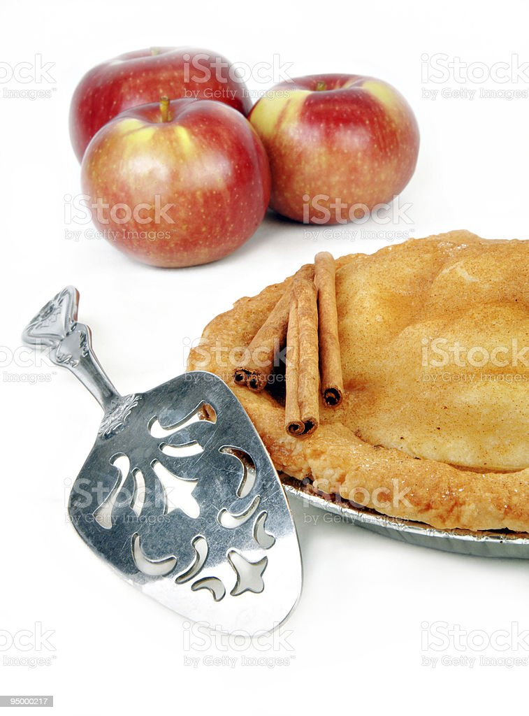 Freshly Baked Apple Pie stock photo
