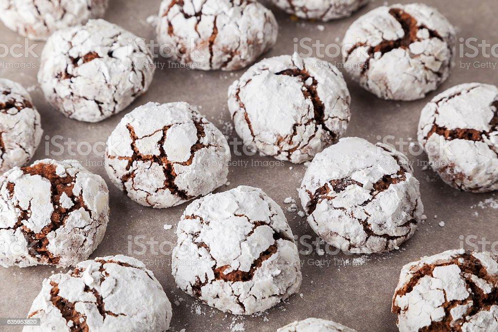Freshly Baked Brownies stock photo