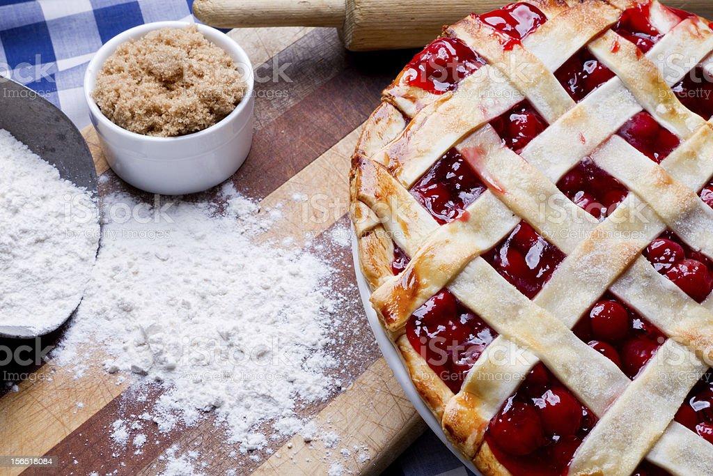 Freshly Baked Pie royalty-free stock photo