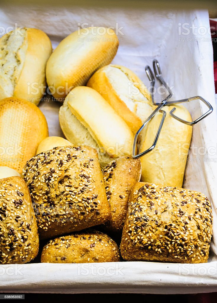 Freshly Baked Rolls stock photo