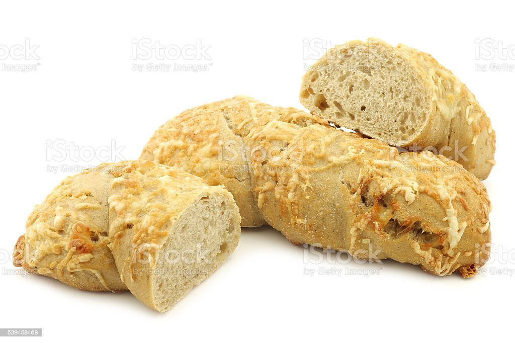 freshly baked spelt bread stock photo