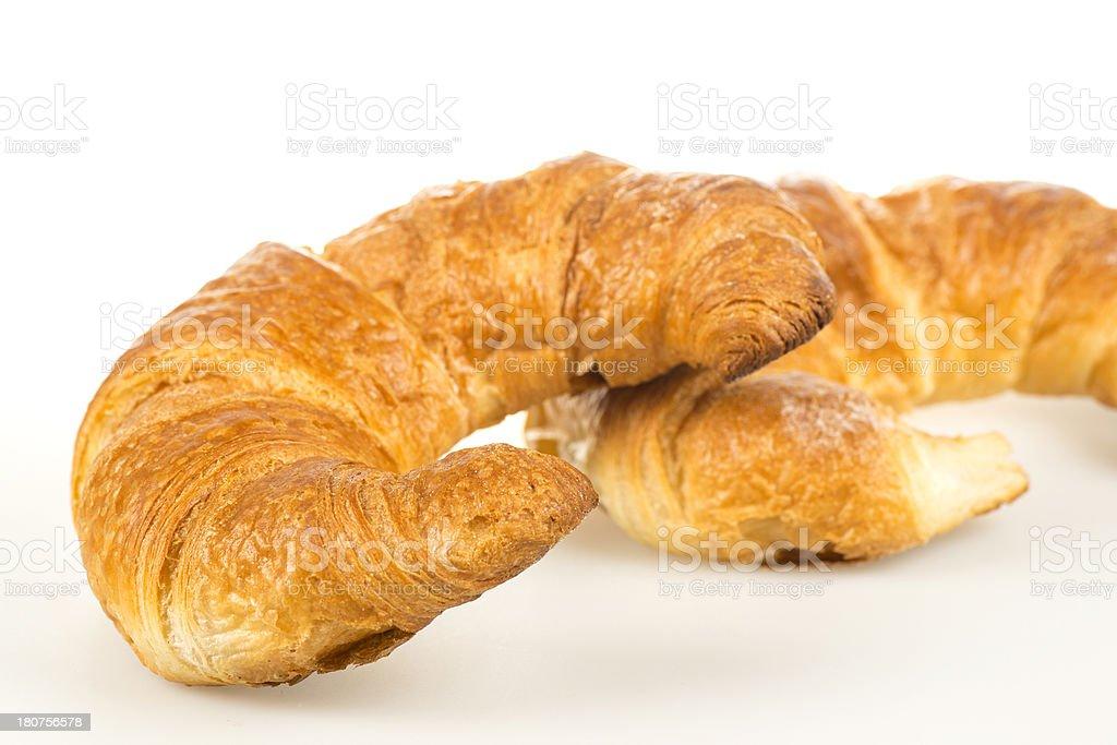 Freshly baken Croissants royalty-free stock photo
