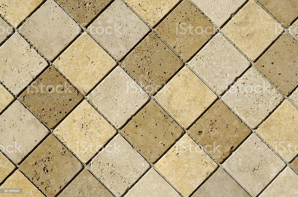 Freshly Laid Tiles royalty-free stock photo