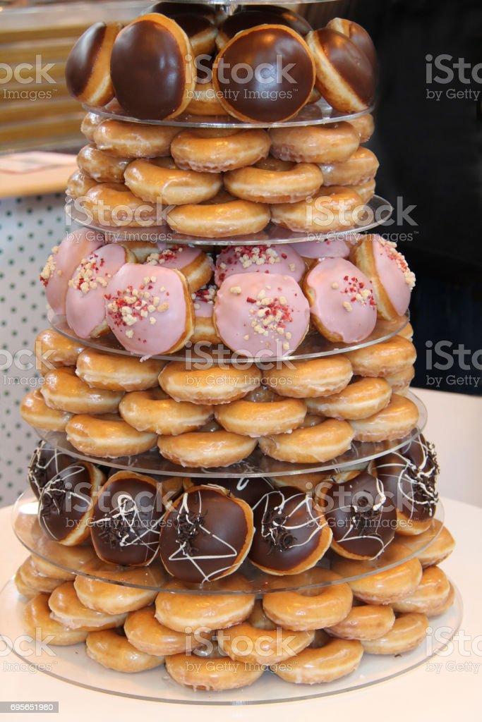 Freshly Made Cakes. stock photo