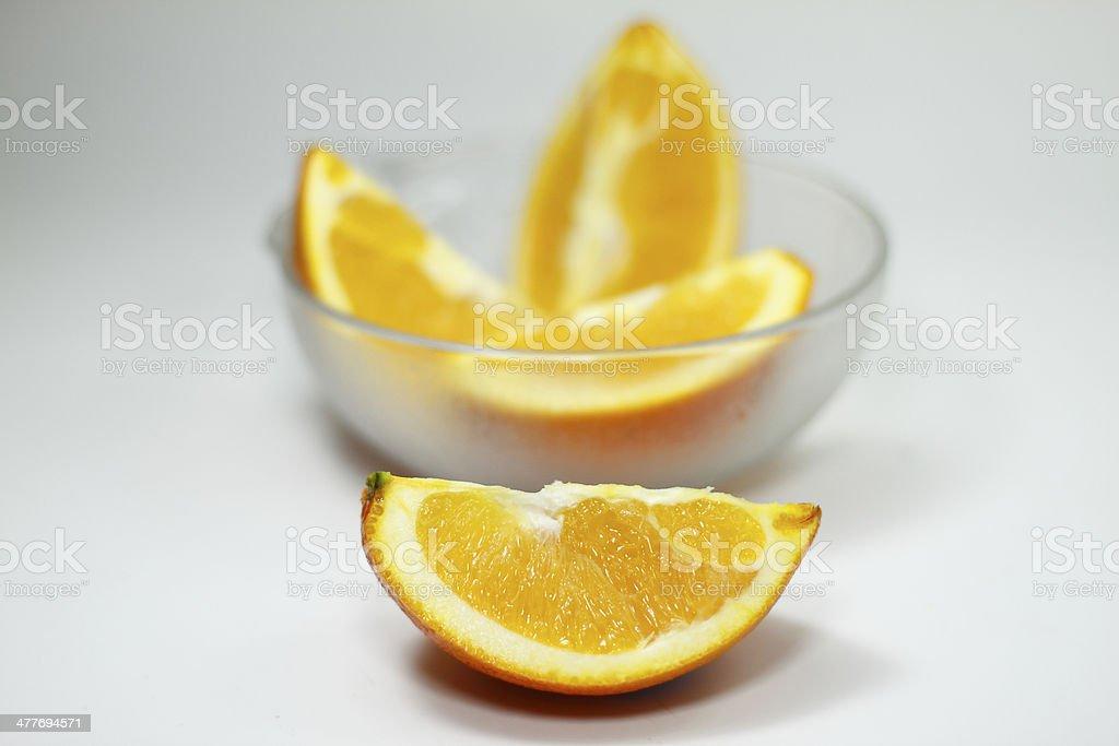 Świeże orange warstwy szkła zbiór zdjęć royalty-free