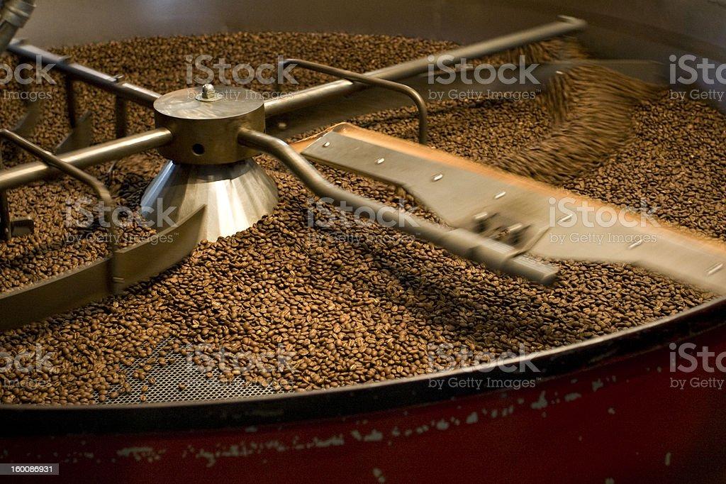 Freshly Roasted Coffee Beans stock photo