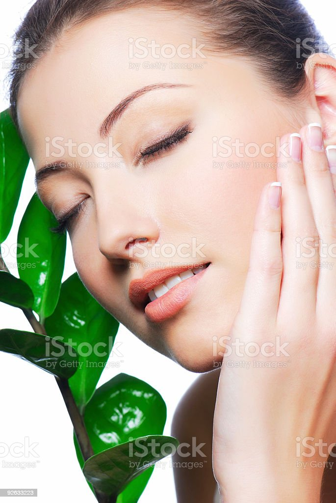 Freshness and relaxation royalty-free stock photo