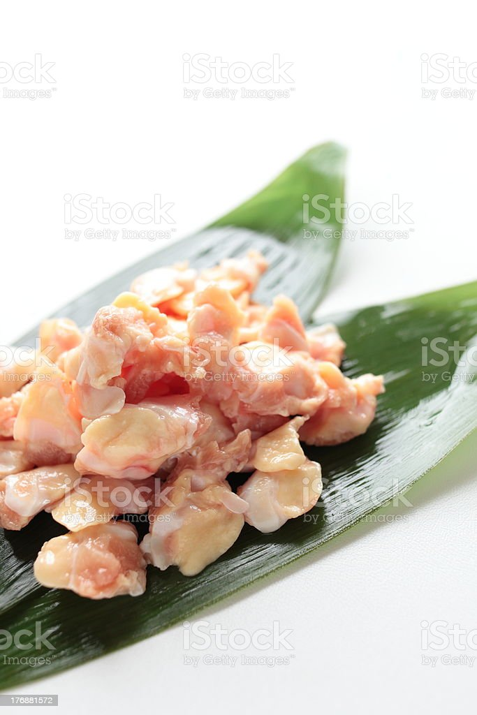 Freshness chicken gristle royalty-free stock photo