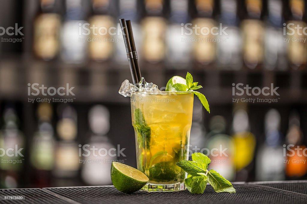 Freshness cocktail stock photo