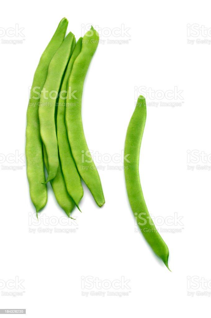 Freshness Green Beans royalty-free stock photo