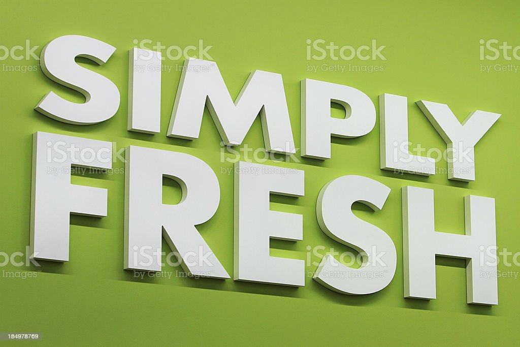Freshness royalty-free stock photo