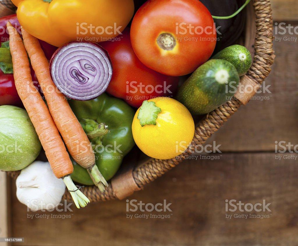 Freshness vegetables royalty-free stock photo