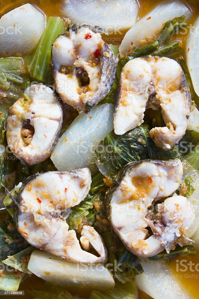 Freshwater fish Hot and sour royalty-free stock photo