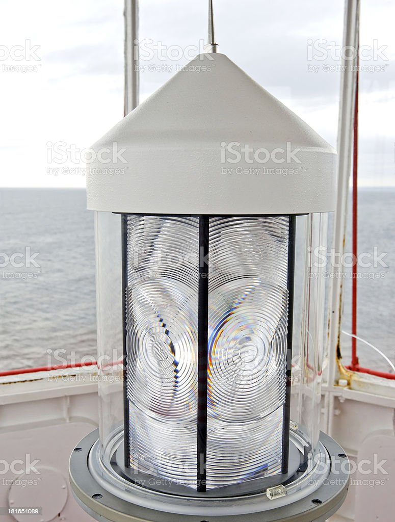 Fresnel lens royalty-free stock photo