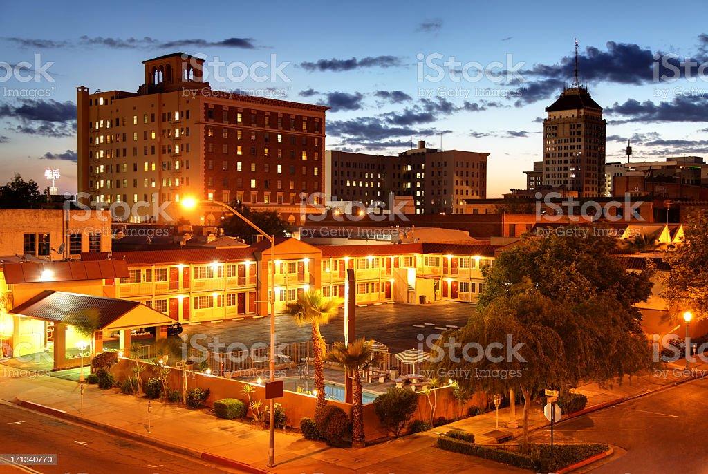 Fresno California stock photo