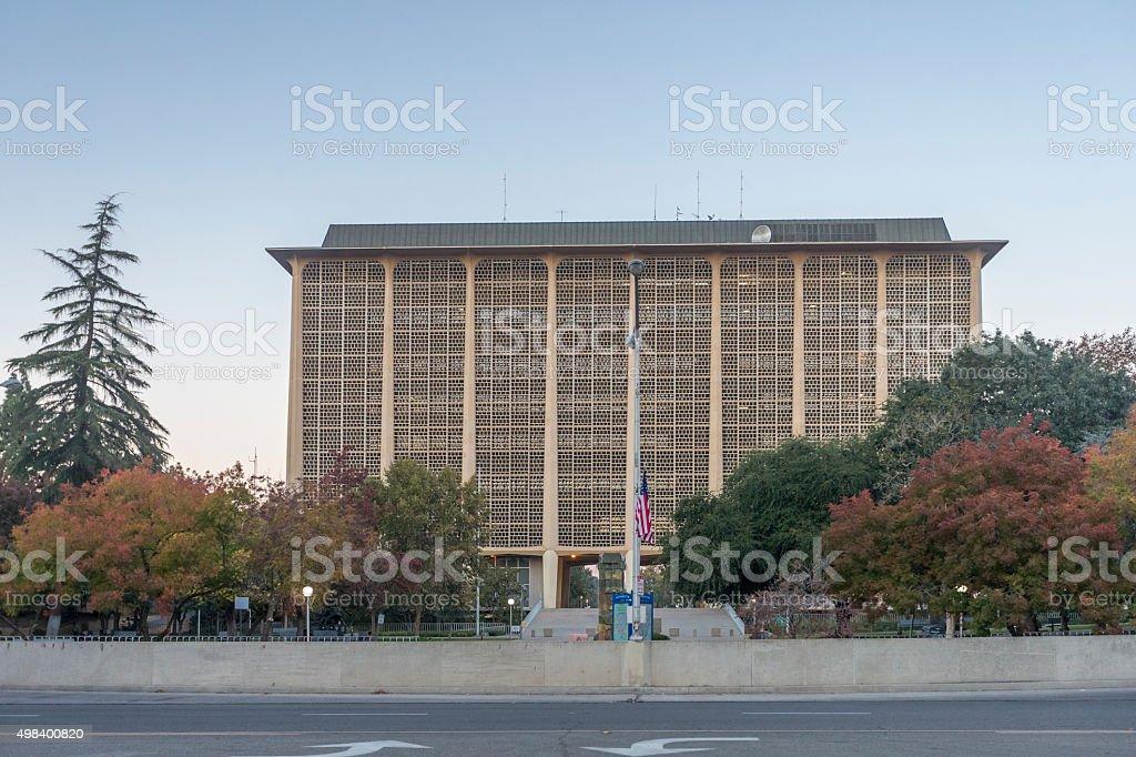 Fresno Court House, California stock photo