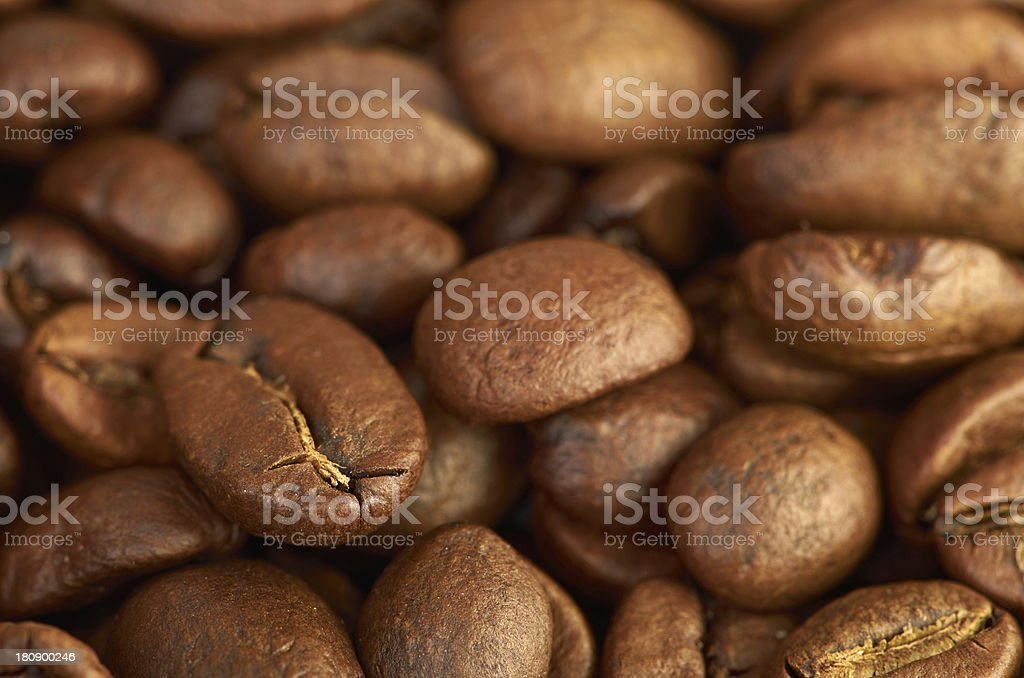 fress coffee beans royalty-free stock photo
