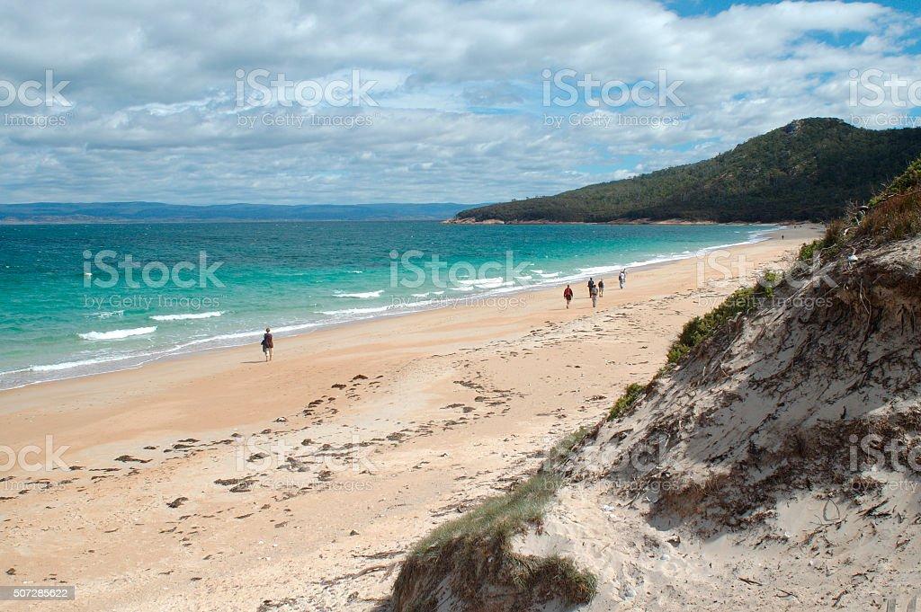 Freycinet beach Tasmania stock photo