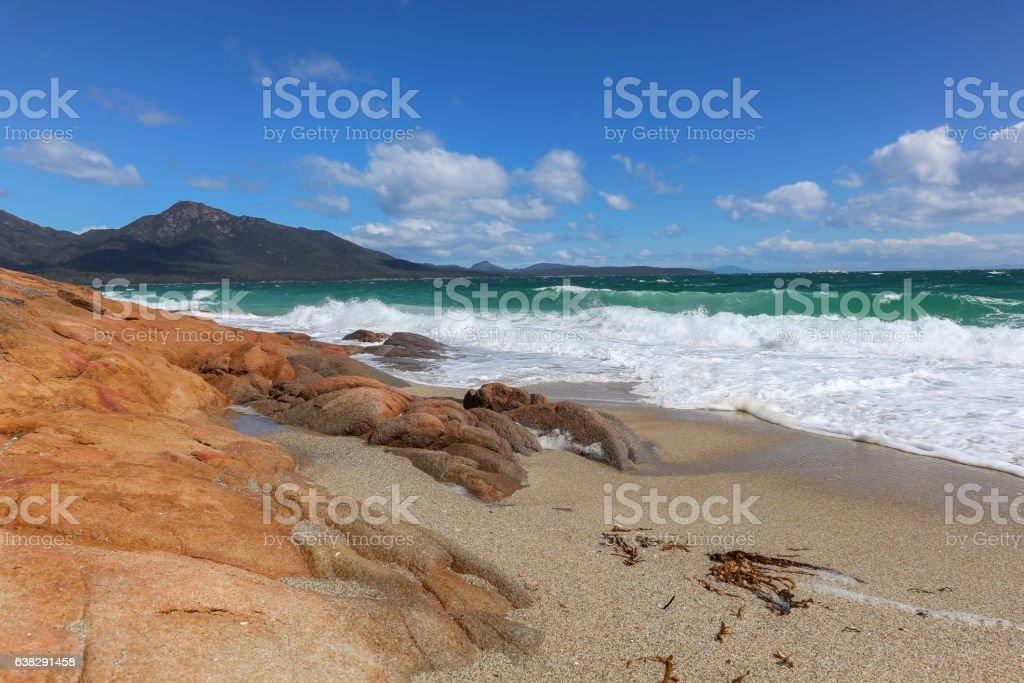 Freycinet National Park - Hazards Beach stock photo