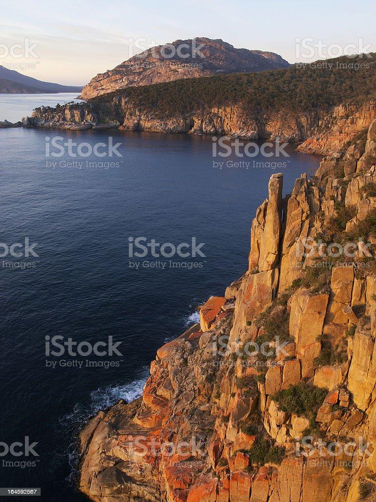 Freycinet National Park Tasmania stock photo