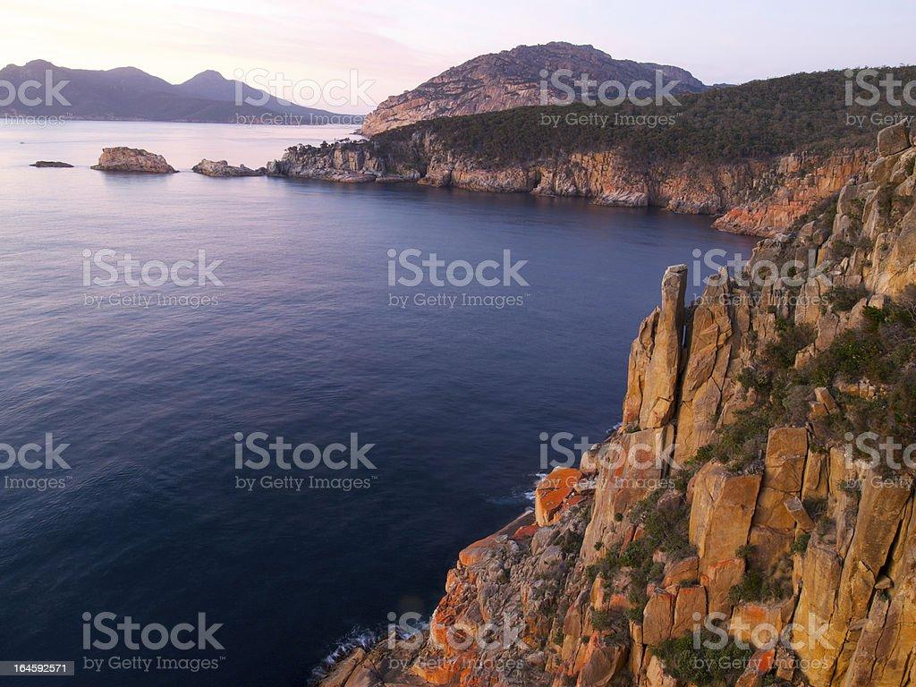 Freycinet Tasmania stock photo