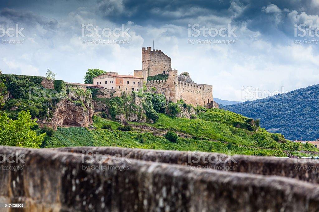 Frias. Castilla and Leon. Spain stock photo
