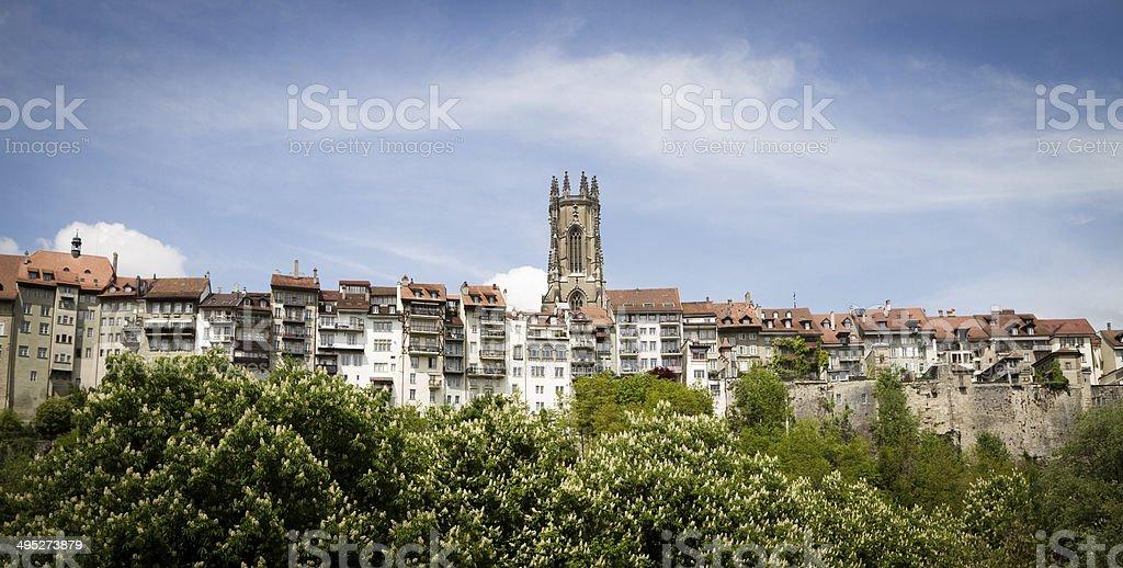 Fribourg - Freiburg, Switzerland stock photo