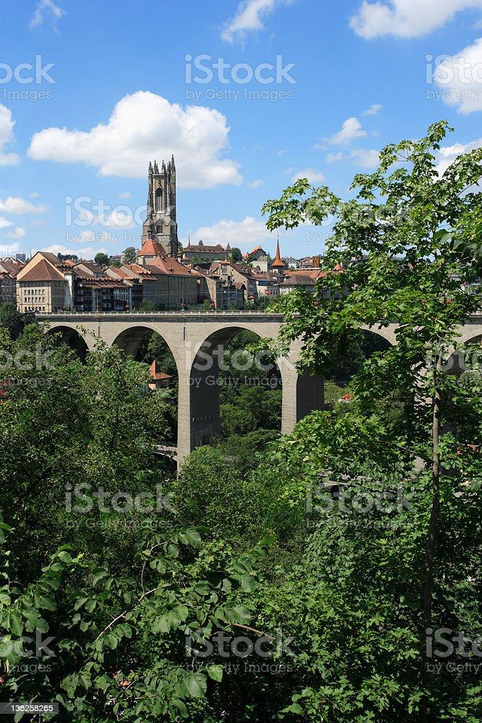 Fribourg Switzerland royalty-free stock photo
