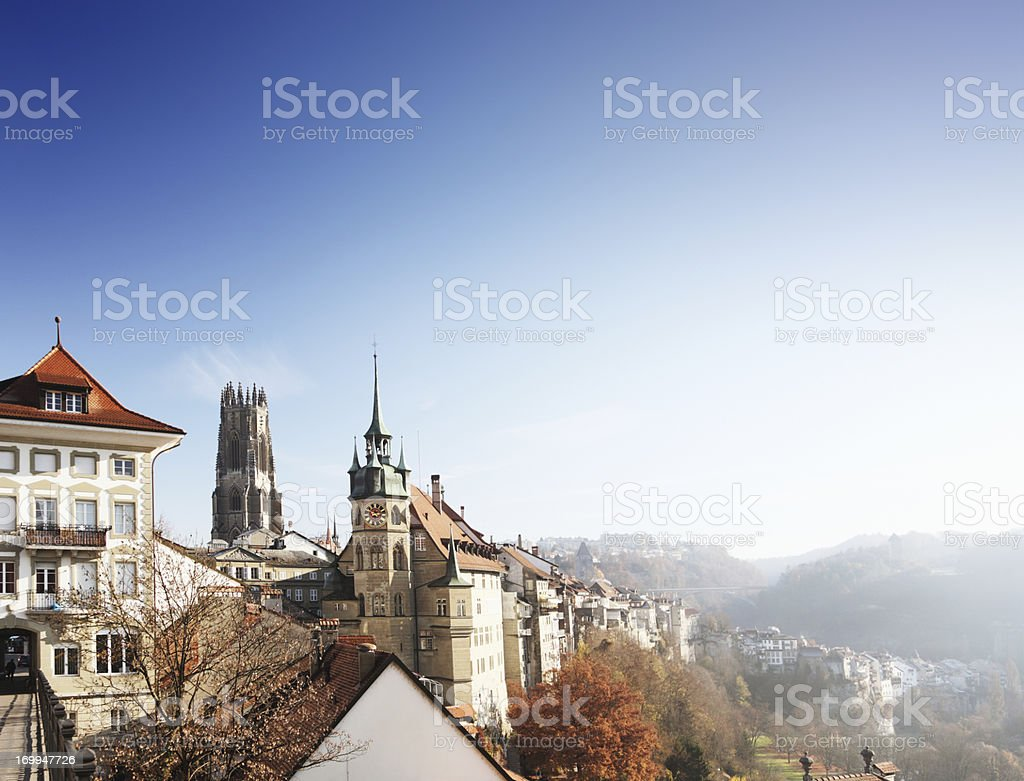 Fribourg, Switzerland stock photo